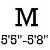 M (Height 5ft5inch -5ft8inch )