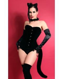Black Cat Corset
