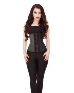 Playgirl Black Pure Latex Work Out Waist Trainer