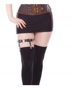 Playgirl Black Leg Garter Suspender